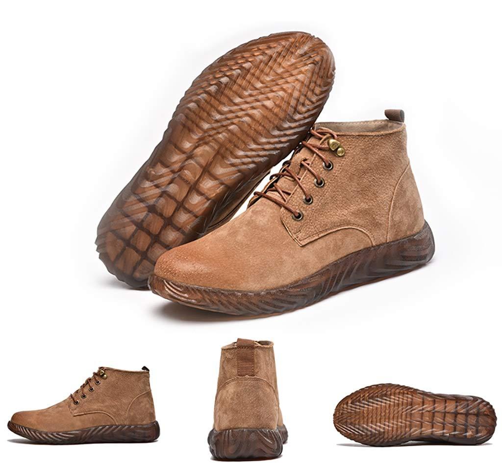 Zapatos de seguridad Calzado alto de algodón ligero de algodón anti- ácaros para hombre, soldador eléctrico, zapatos de trabajo con fondo blando especial ...