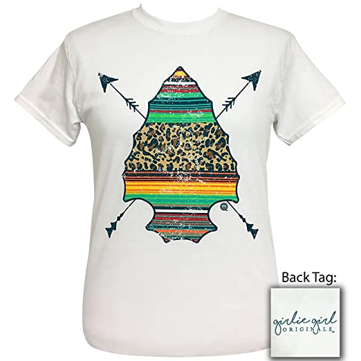 4a8e9c752068 Girlie Girls Serape Arrowhead Preppy Short Sleeve T-Shirt Adult (X-Large)