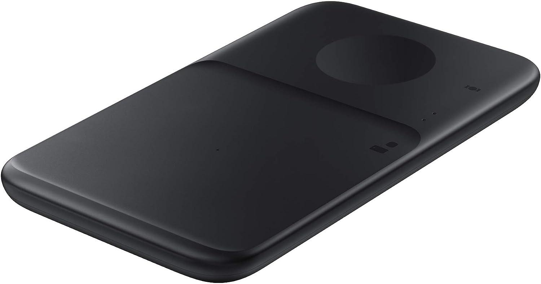 SAMSUNG Cargador inal/ámbrico Duo EP-P4300B Color Negro