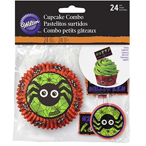 Wilton Halloween Cupcake Combo Papers - 24 count ()