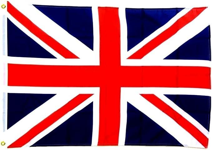Bandera Gran Bretaña Union Jack - 150 x 250 cm: Amazon.es: Jardín
