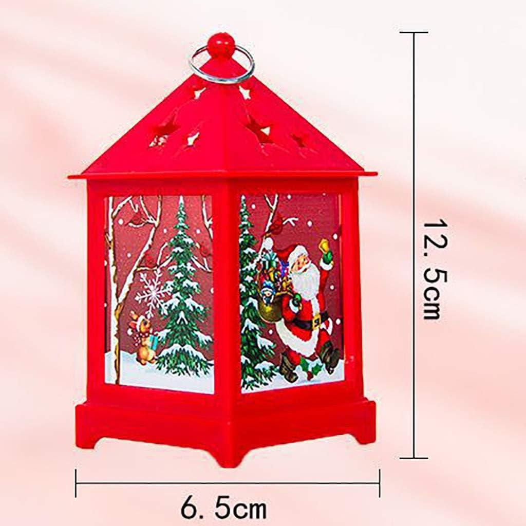 Amazon.com: ynsir - Velas de Navidad con luz LED para velas ...