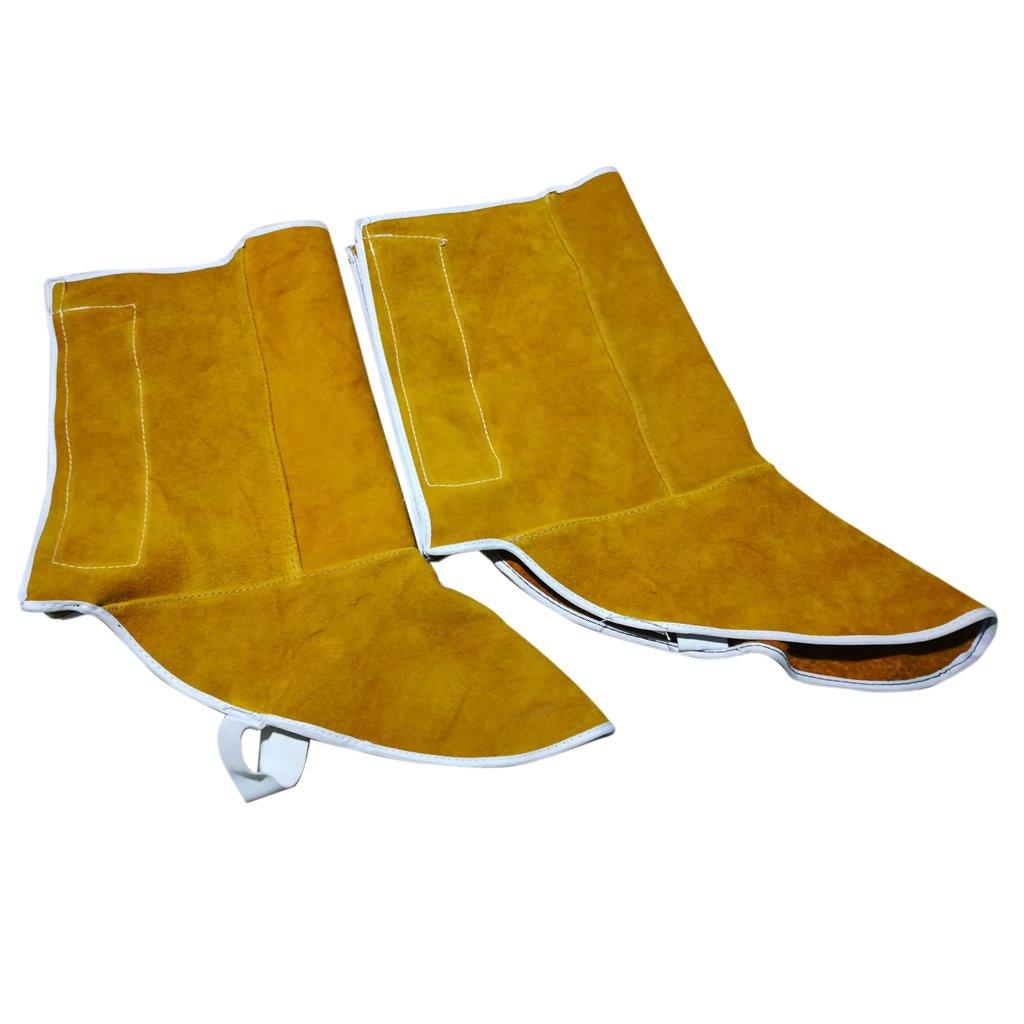 MagiDeal 1 Par Rodilleras de Soldadura de Pies Zapatos Protectores Usable Suave Protección Aislamiento de Calor: Amazon.es: Salud y cuidado personal