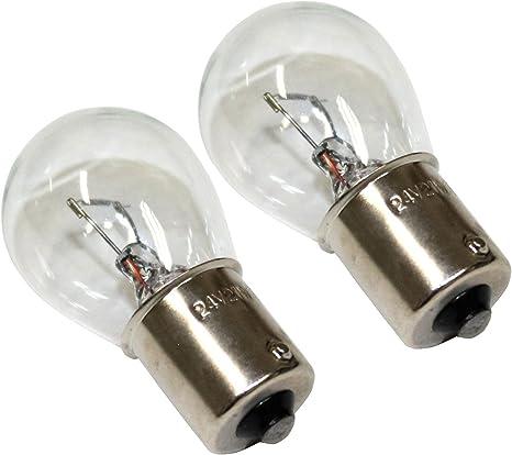 Aerzetix Jeu De 2 Ampoules P21w 24v