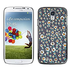[Neutron-Star] Snap-on Series Teléfono Carcasa Funda Case Caso para Samsung Galaxy S4 [Campo Flor Wallpaper trullo Pretty]