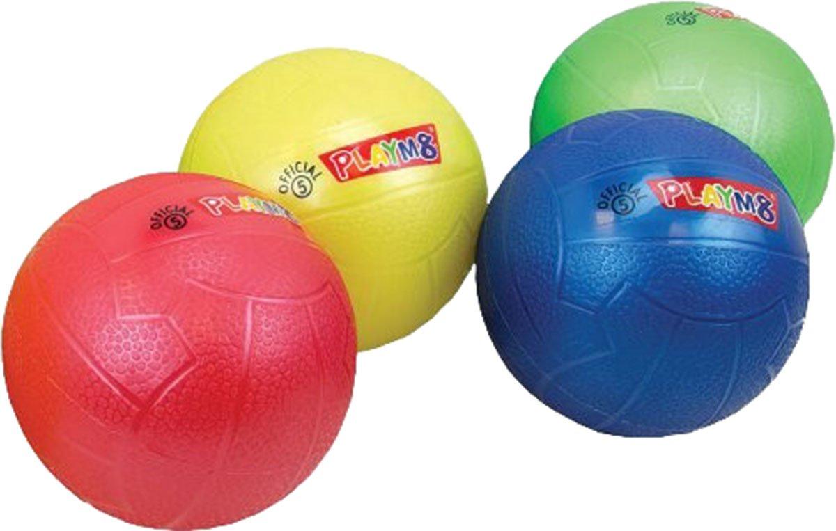 Molten Kids Garden Games Vinyl Play Ball Assortedカラー4パック  Official 5