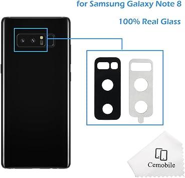 Cemobile - Lente de Repuesto para cámara Trasera de Samsung Galaxy ...