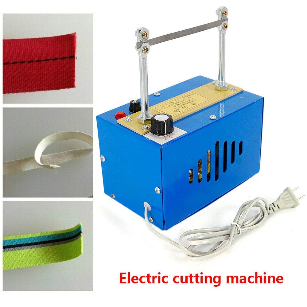 4YANG Electric Rope Cutter, Hot Knife Blade Heating Cut Rope Cord Tape Cutting Machine for Braid Fabric Webbing Belting Ribbon by 4YANG