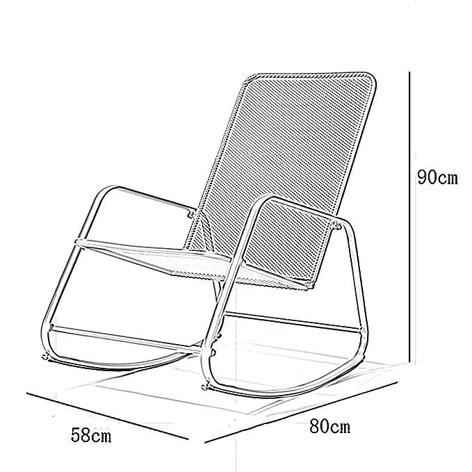 Amazon.com: LIXIONG Outdoor Garden Relax Rocking Chair ...