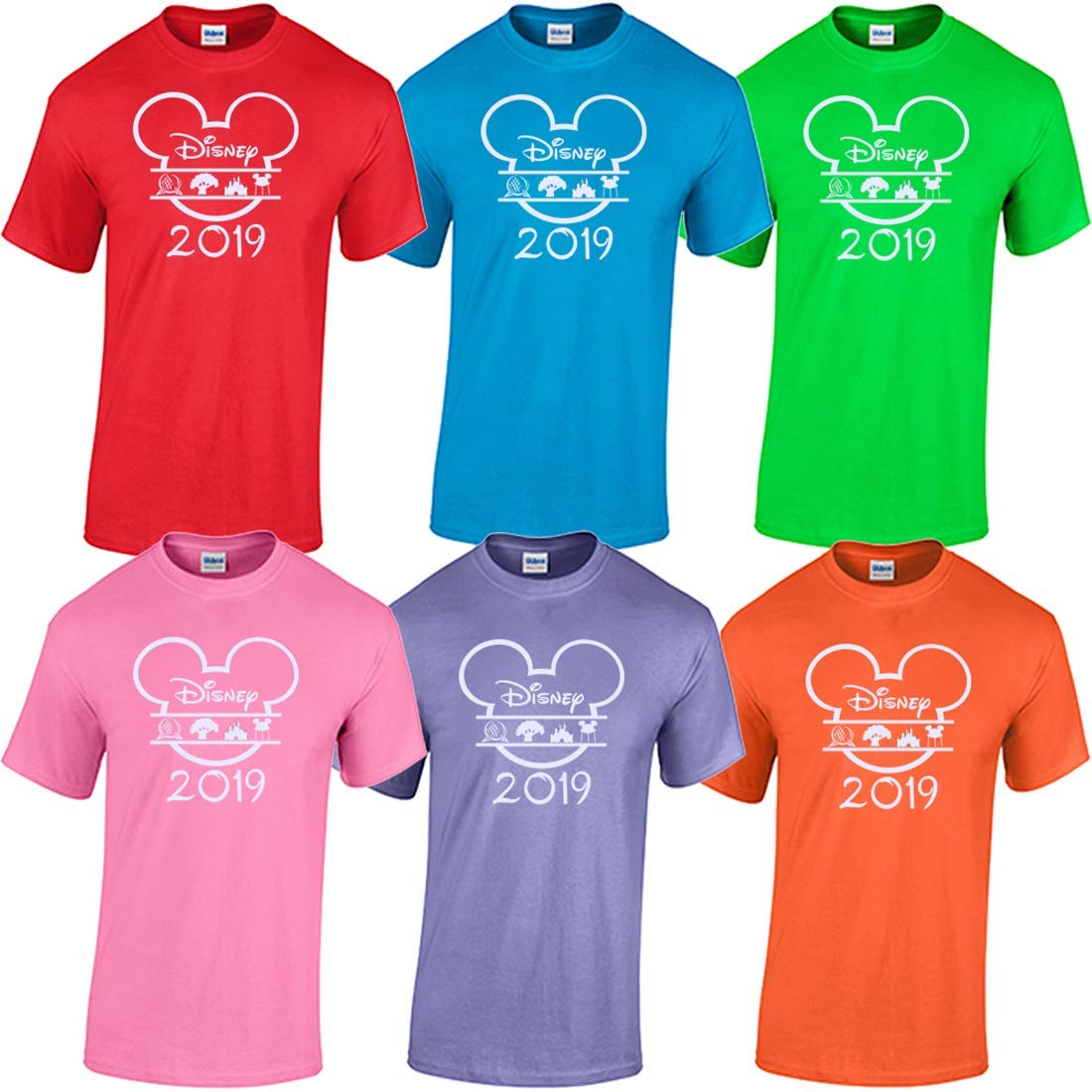 631c5518b Amazon.com: Matching Family Vacation Shirts Mickey Mouse Minnie Matching  Shirts Custom 2019: Clothing