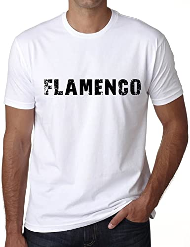 One in the City Hombre Camiseta Vintage T-Shirt Flamenco ...