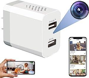 Hidden Spy Camera - WiFi Hidden Cameras - Hidden Camera with Live Feed WiFi - Spy Cameras - Home Mini Nanny Cam Hidden Camera with Video Recording - Spy Camera Wireless Hidden with Remote Access