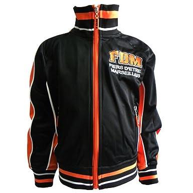 ffb4bf80a318a Veste FDM Orange et Noir  Amazon.fr  Vêtements et accessoires