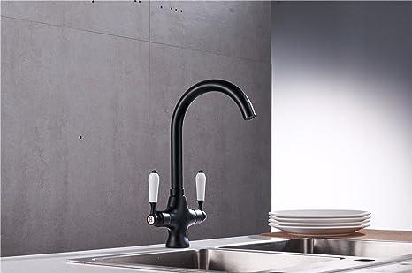 Vasca Da Bagno Perde Acqua : Sjin ceramica nera acciaio inossidabile cascata in puro rame vasca