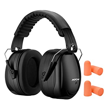 8c04b7e9ef91e1 Mpow 095 Adjustable Earmuff for Noise Reduction 32dB+28dB NRR Noise  Cancelling Professional Ear Defenders