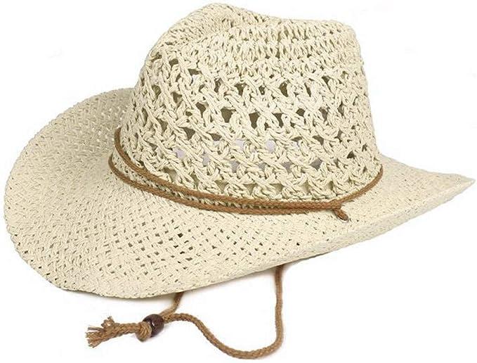 LOPILY Gorra de Sol de ala Ancha Unisex Color Sólido Sombrero de ...