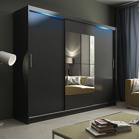 Dimensioni Armadio 3 Ante Scorrevoli.Ye Perfect Choice Nuovo Moderno Specchio Ava 1 3 Ante