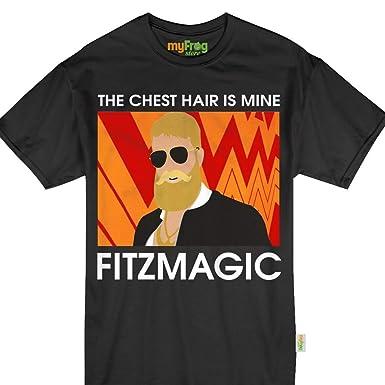 Amazon.com  Fitzmagic The Chest Hair is Mine Funny Tampa Bay Football Bucs  Tshirt  Clothing 6247f2c01