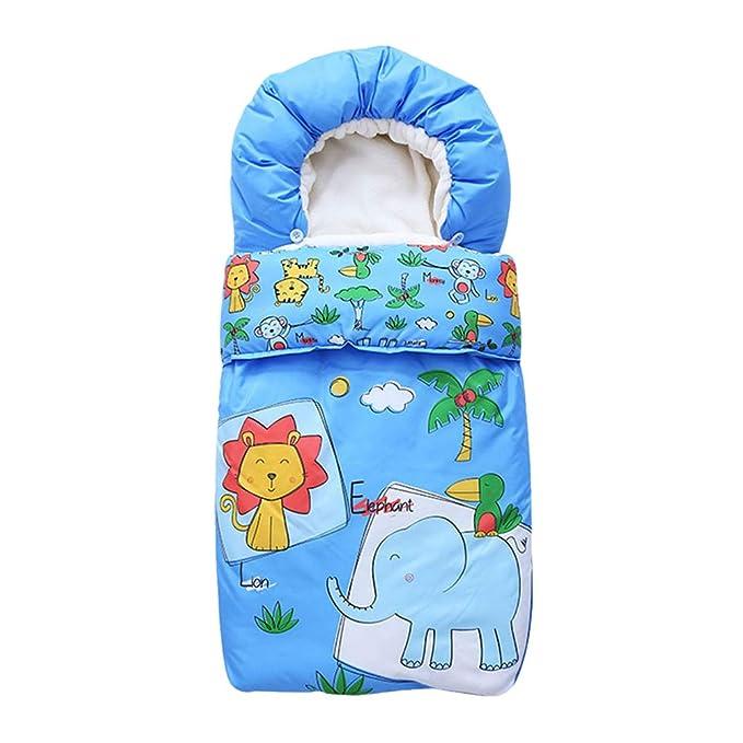 Zhhlinyuan Saco de Dormir de Cochecito para Bebé Infantil - Impermeable Cálido Manta para Forro del Asiento Saco de Paseo Envoltura Saco Universal: ...