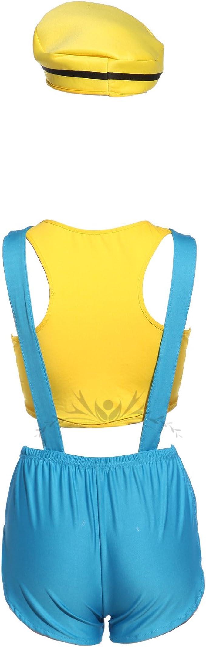 MABOOBIE - Disfraz de Minion para mujer: Amazon.es: Ropa y accesorios