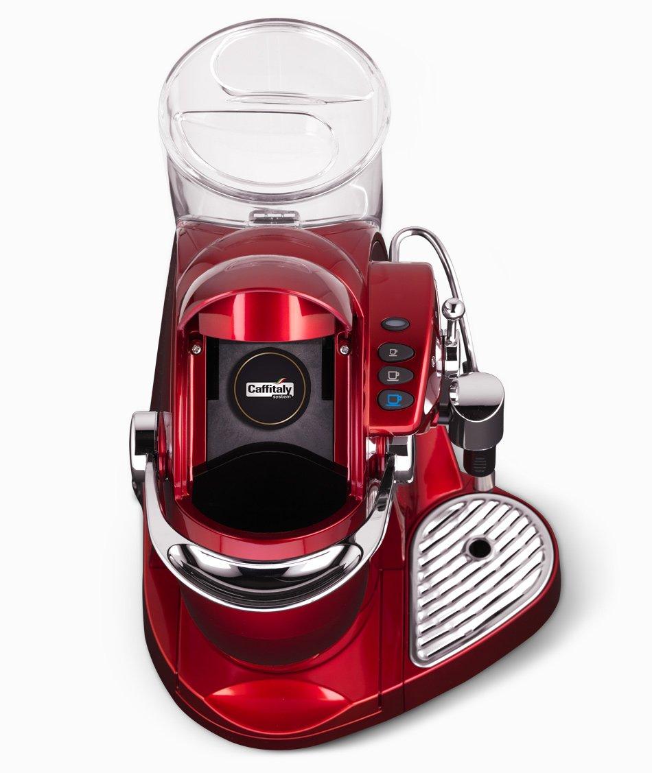 Caffitaly Nautilus S06HS Rosso Independiente Máquina de café ...