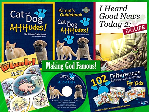Attitude Cat - Year 1 Elementary: Cat and Dog Attitudes Complete Kit