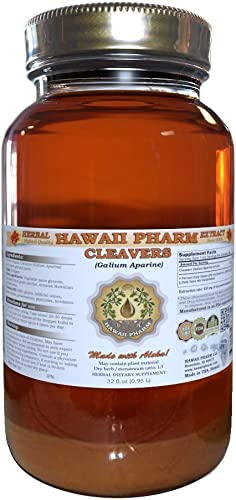 Peach Leaf Alcohol-Free Liquid Extract, Peach Leaf Prunus persica Dried Leaf Glycerite Natural Herbal Supplement, Hawaii Pharm, USA 64 fl.oz
