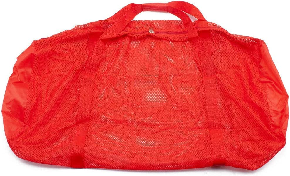 Laundry Football Swimming Gear Red, 36x15 Duffle Bag Basketball Volleyball Sports Equipment Mesh Drawstring Bag//Backpack Bag//Duffle Bag for Gym Training Toys Soccer