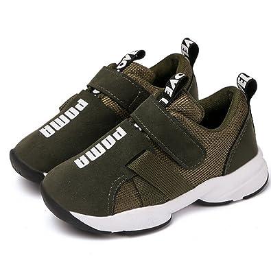 e77cc1c2f3598b Amazon | [Daclay] ダクレ 新しい 運動靴 黒 白 灰 男の子 女の子 子供 ...
