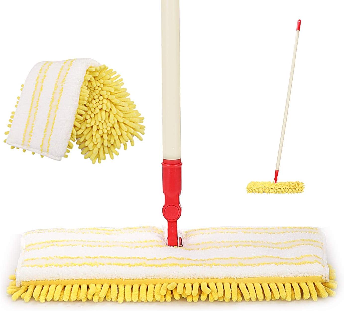 CLEANHOME Microfiber Flip Mop