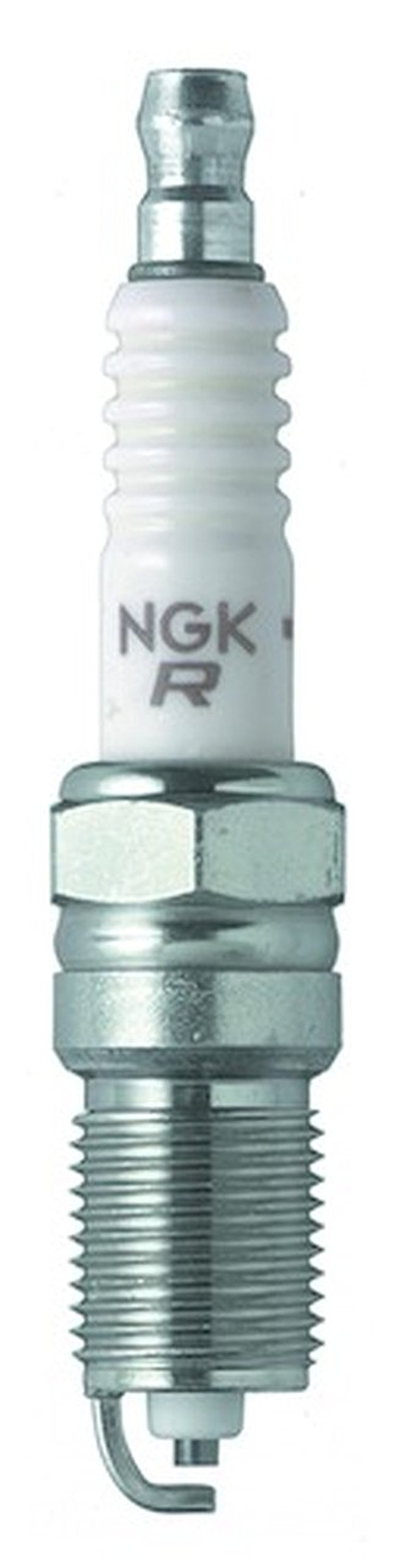 Set (8pcs) NGK V-Power Spark Plugs Stock 2238 Nickel Core Tip Standard 0.040in TR5 by NGK