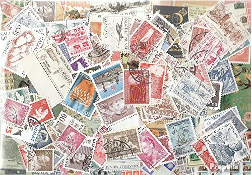 Denmark-Greenland 150 different stamps (Stamps for collectors) (Stamp Greenland)
