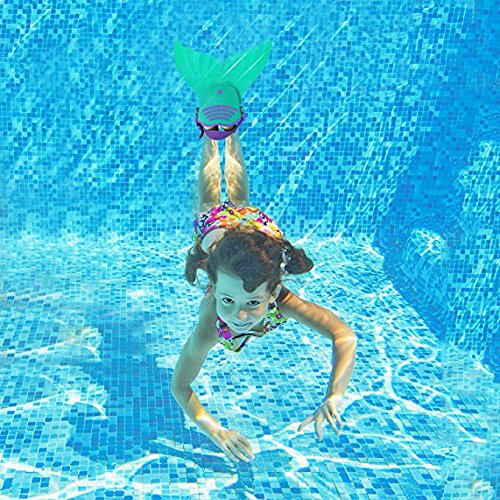 SPEEDEVE Kinder Mädchen Meerjungfrauenschwanz Meerjungfrau Flosse Schwimmanzug Schwimmanzug Schwimmanzug Badebekleidung 4pcs Bikini Sets B07PNP38VG Bademode Leitende Mode f963a9