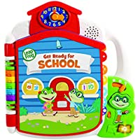 LeapFrog 602303 Tad'S Get Ready for School Book, Multi
