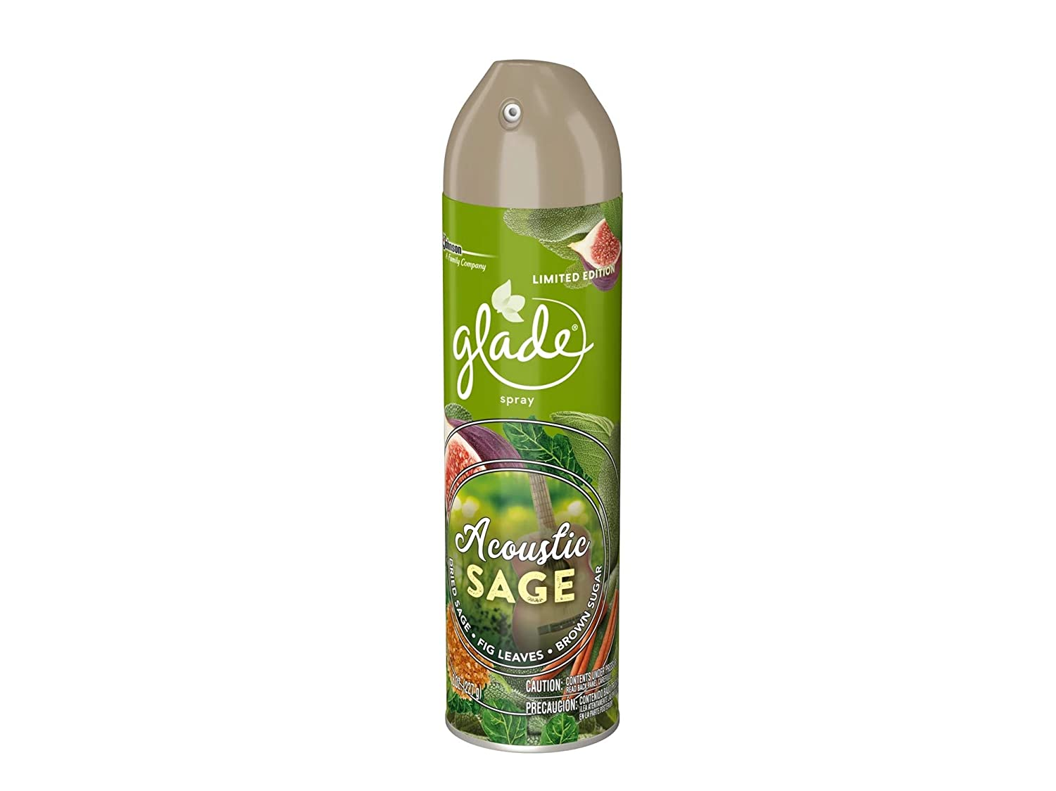 Glade Acoustic Sage Limited Edition Air Freshener Spray - 8oz