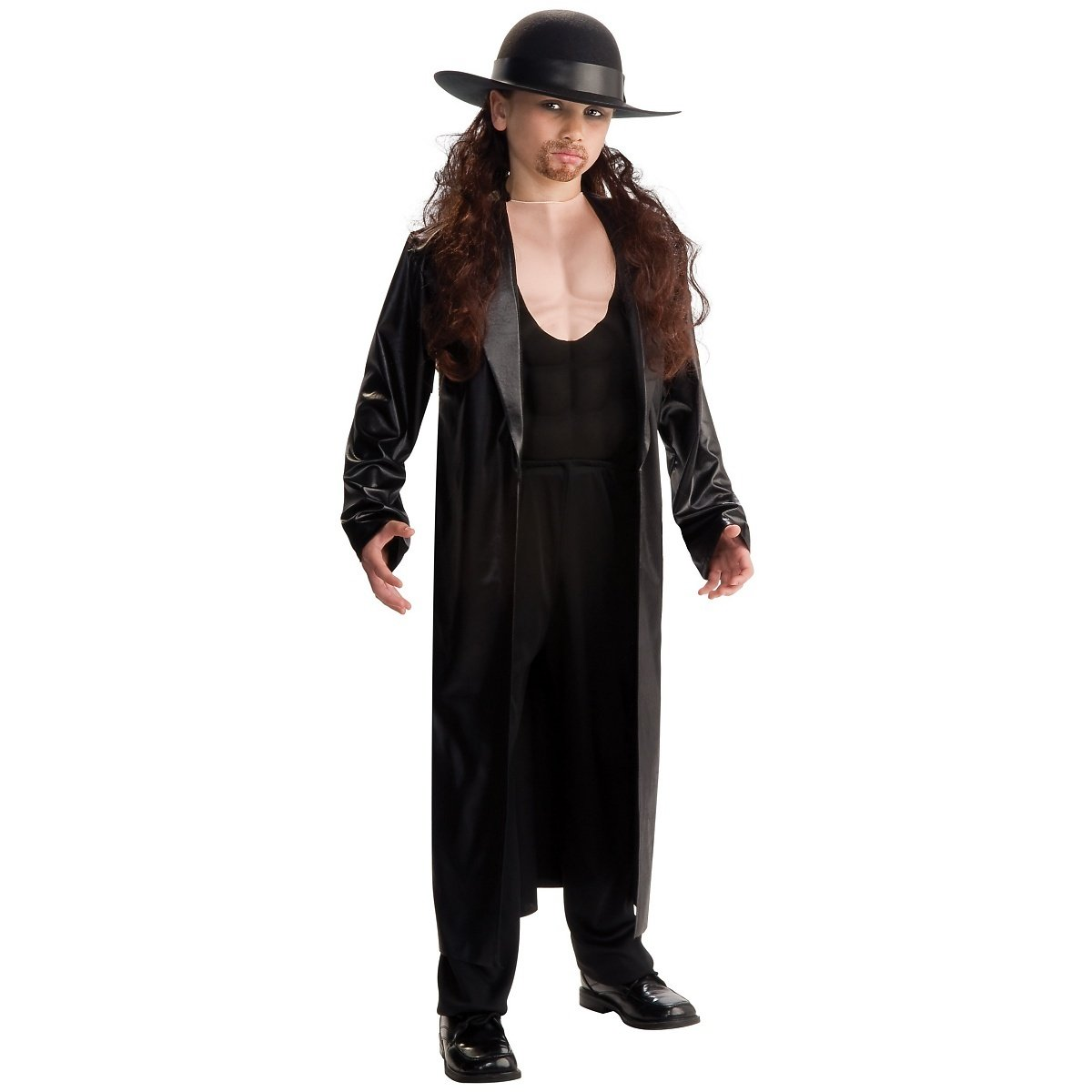World Wrestling Entertainment Deluxe Child's Muscle Chest Costume, Undertaker Costume,Medium (Size 8 to 10)