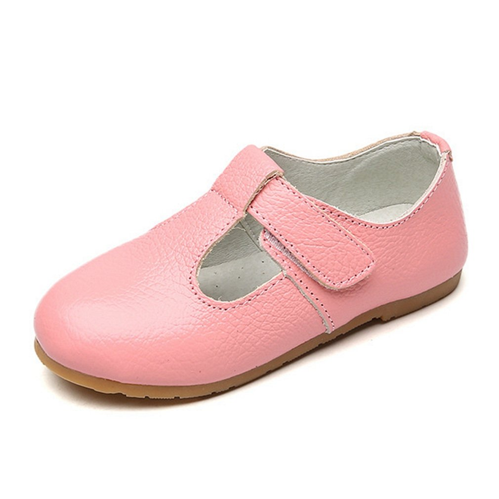 CYBLING Toddler Little Girls Mary Jane Shoes Casual Ballet Ballerina Flat School Uniform Shoe