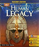 img - for Holt World History: Human Legacy, Teacher's Edition book / textbook / text book