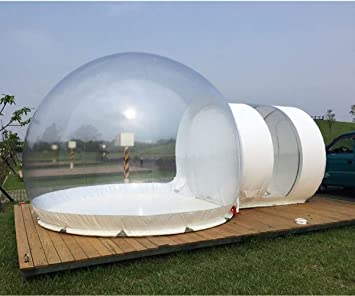 INFLATELINES Transparent Viewing 360° Dome Inflable Carpa de ...