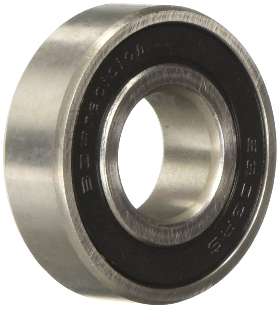 BC Precision BC16203 One (1) 6203-2RS Sealed Bearing 17x40x12 Ball Bearing/Pre-Lubricated