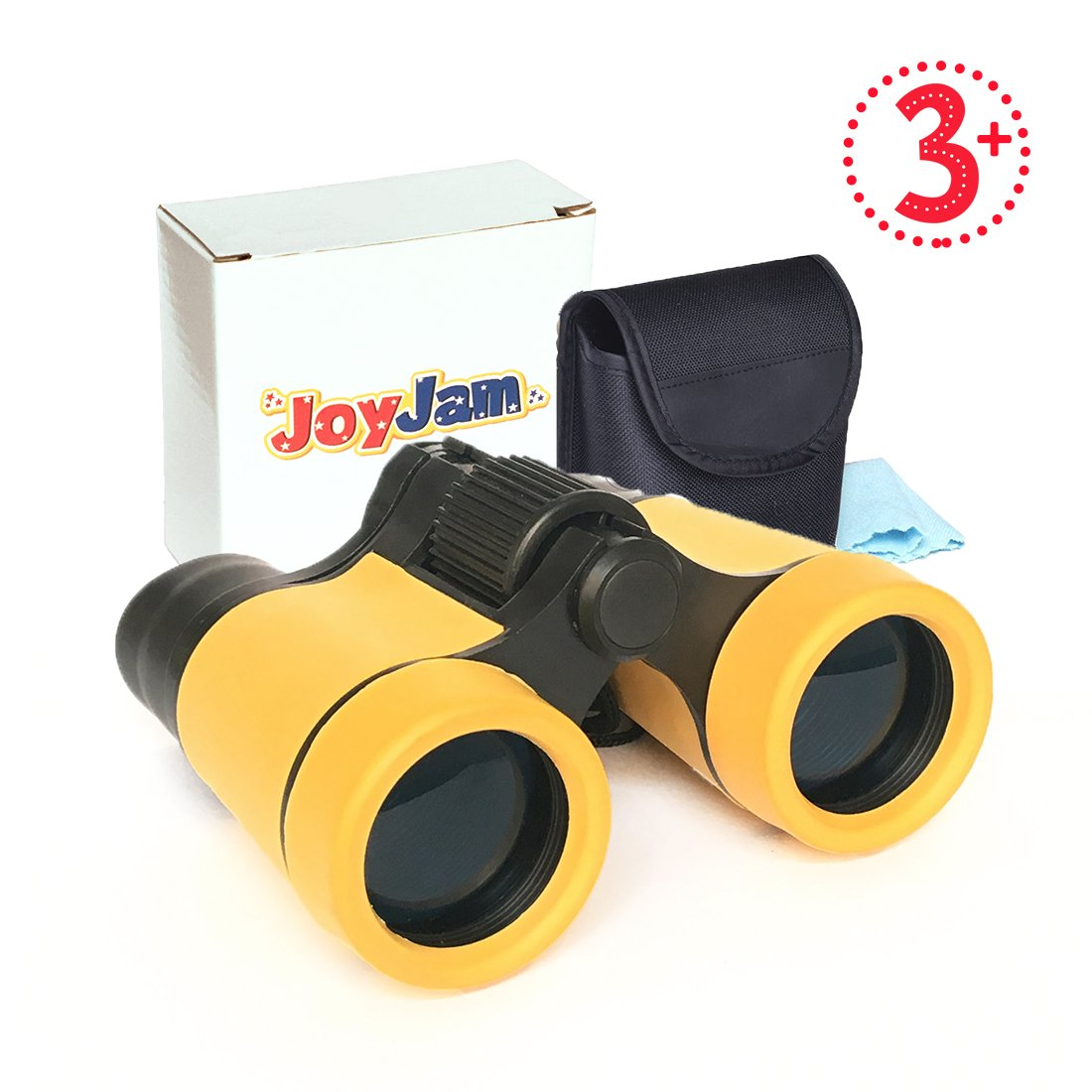 Joyjam Boys Toys 4-6 Year Old, Toy Binoculars Outdoor Toys for Kids, Gifts for 3-6 Year Old Girls (Yellow)