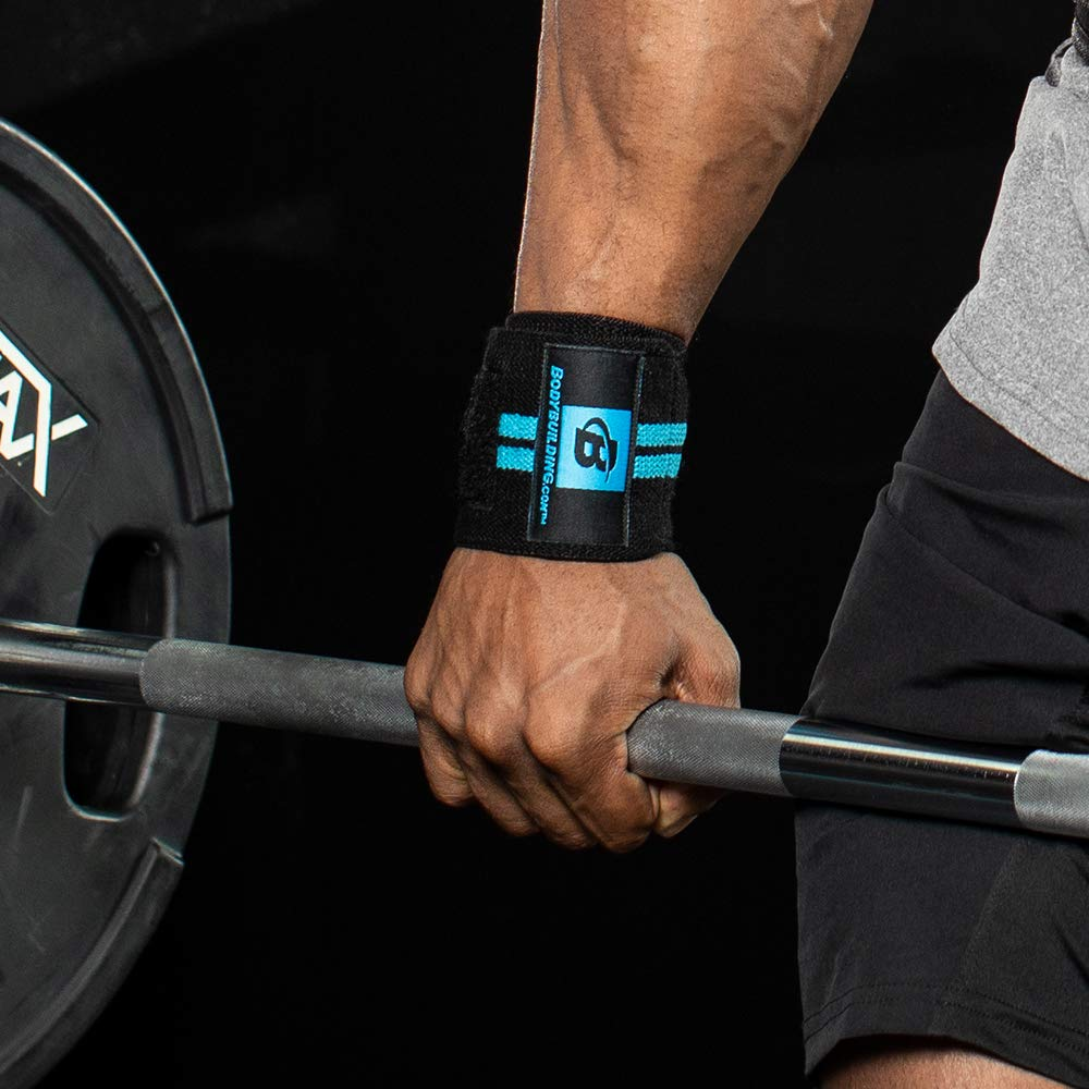 Women Weightlifting Cross Training One Size Fits All Wrist Support Braces for Men Training Powerlifting Bodybuilding.com Accessories Wrist Wraps Fastening Straps Stretchy Secure