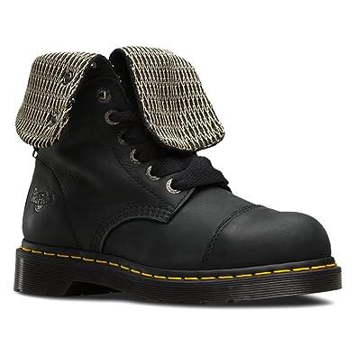 Dr. Martens Women s Leah Steel Toe Work Boots 6ba3387b6