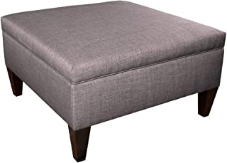 product image for MJL Furniture Manhattan Collection Extra Large Lift Top Upholstered Storage and Organizational Ottoman