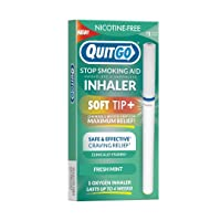 Quit Smoking Aid Oxygen Inhaler + Soft Tip Chewable Filter to Help Curb Cravings...