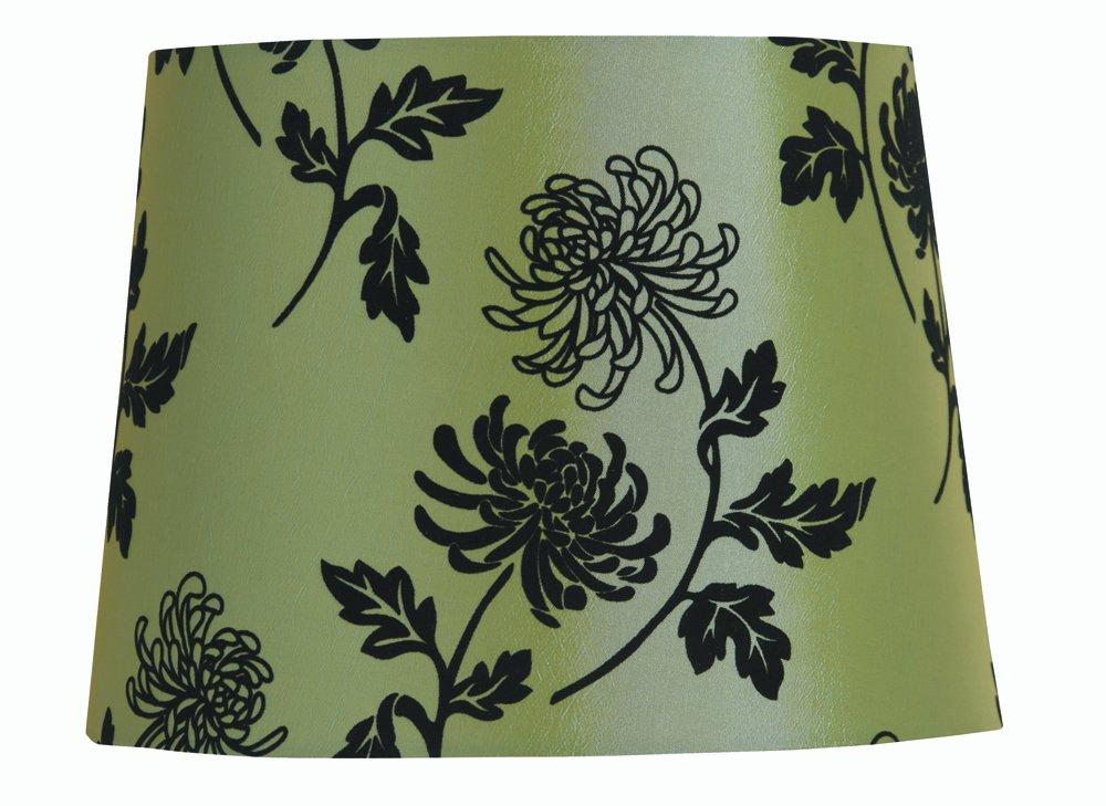 Oaks Lighting Abat-jour tambour 25 cm (Vert) S640/10