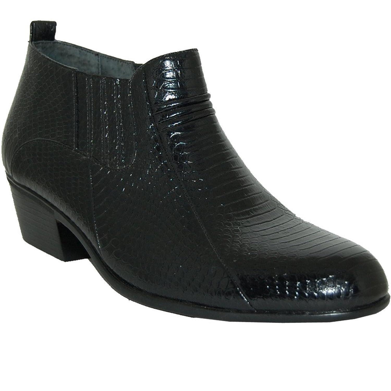 2 Inch Cuban Heel Leather Line Boot