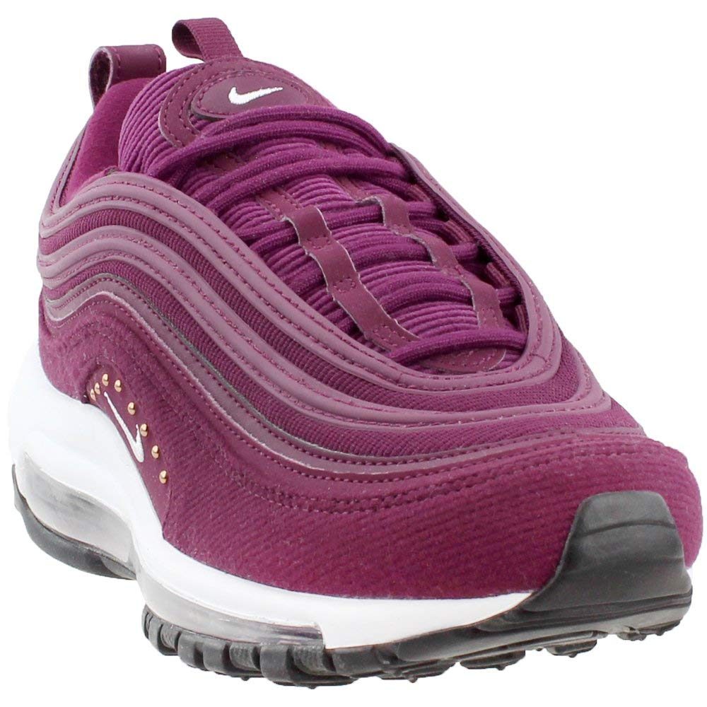 Bordeaux, white-black Nike Women's Air Max 97 Running shoes Grey