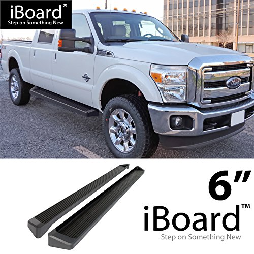eBoard Running Boards Black 6