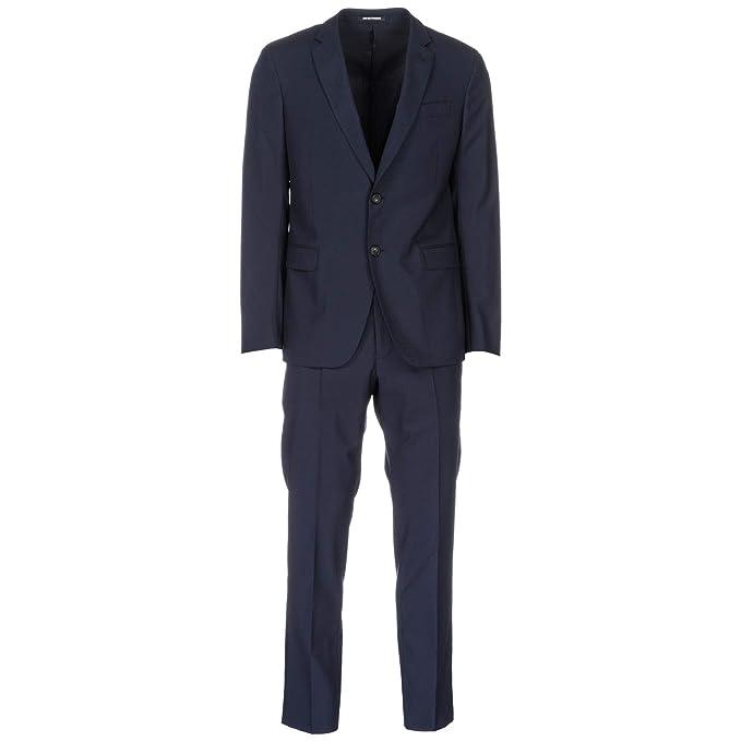 purchase cheap aafd9 04b99 Emporio Armani Abito Uomo Blu 50 EU: Amazon.it: Abbigliamento